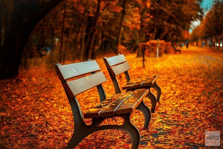 Vanaf vandaag is het herfst