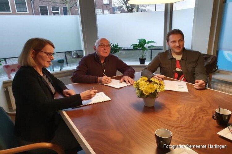Ondertekening prestatieafspraken Harlingen 2020