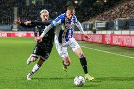 SC Heerenveen sluit 2019 af met puntendeling