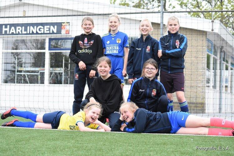 Meisjestraining bij FC Harlingen