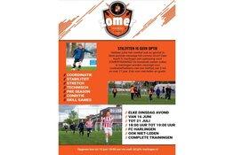 Zomertraining bij FC Harlingen