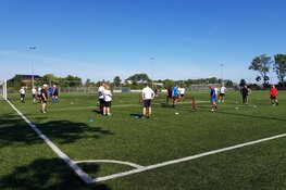 Walking Football trainer Patrick Oosting bij fc Harlingen