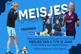 Doe je ook mee met de meisjestraining bij FC Harlingen