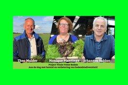 Initiatief Vitale Friese Bodem: Tuinders aan de slag met bodembiodiversiteit