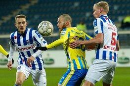 SC Heerenveen ook niet langs RKC