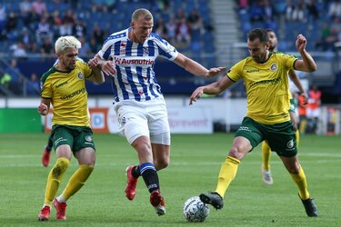 SC Heerenveen wint nipt van Fortuna Sittard